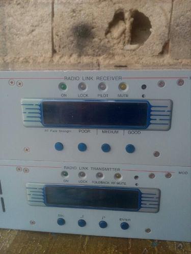 Sistema De Enlaces Para Radio Fm Rvr Rxrl-lcd Y Ptrl-lcd