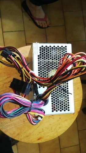 Fuente De Poder Pc Atx 450w 24 Pines Con Conector Sata