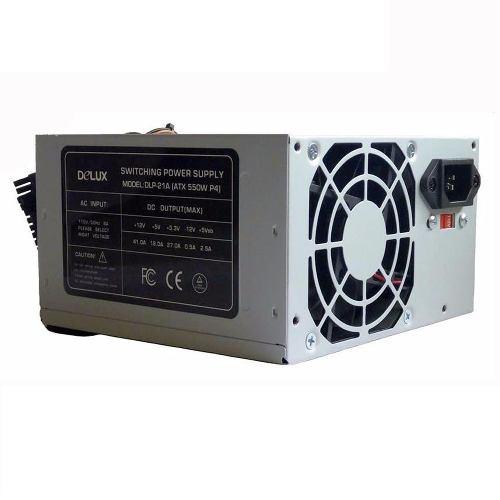 Fuente De Poder Pc Delux 550 Watt