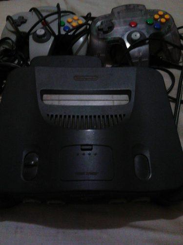 Consola Nintendo 64 Con Dos Controles