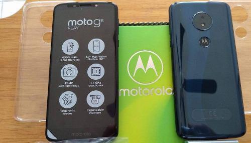 Moto G6 Play 2gb Ram 16gb Rom Hd