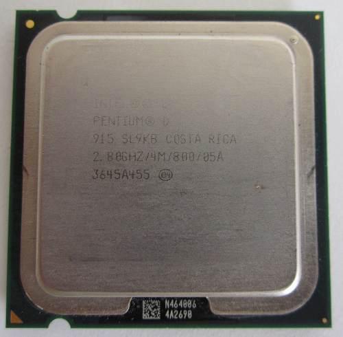 Procesador Intel Pentium D 2.8 Ghz.