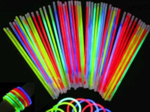 Pulseras De Neon Glow De 15 Unidades
