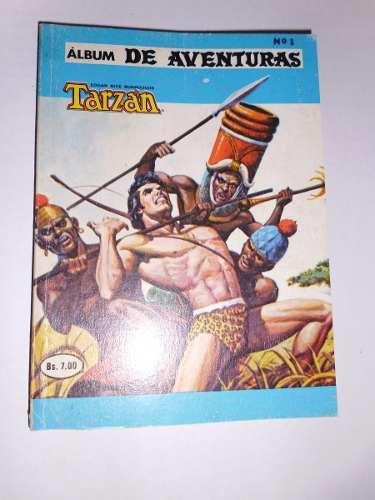 Comic Album De Aventuras Presenta: Tarzan De Los Monos Nro.1