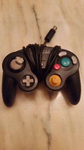 Control De Gamecube Negro Para Reparar O Repuestos.