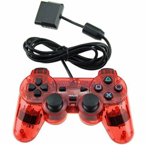 Control De Play Station 2 Sony Rojos