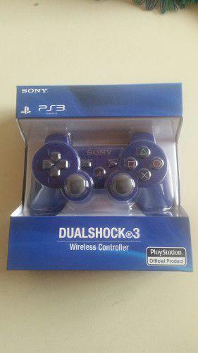 Control Playstation 3 Ps3 Sony Inalambrico Dualshock. Nuevo