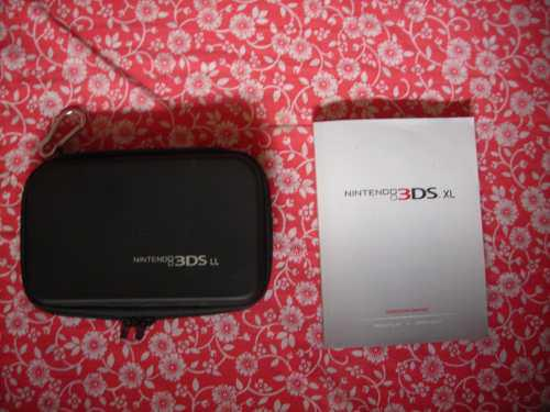Estuche Forro Original Y Manual Para Nintendo 3ds Y 3ds Xl