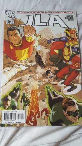 Liga De La Justicia #120 Original En Fisico