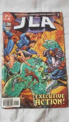 Liga De La Justicia #25 Superman En Fisico