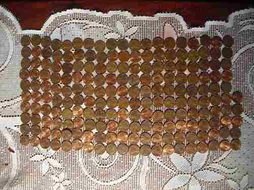 Lote De Monedas Antiguas One Cent