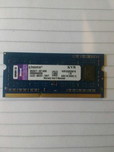 Memoria Ram Para Laptos Y Portatil Kingston Kvrd3s91 Gb