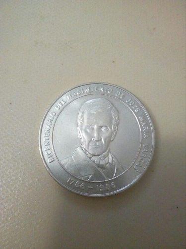 Moneda Bicentenaria José María Vargas.