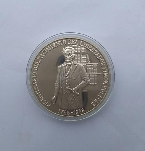 Moneda De Plata Bicentenario De Colección