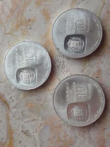 Moneda De Plata Del Libertador