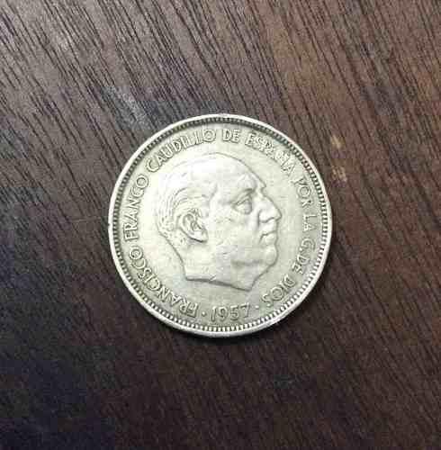Moneda Francisco Franco 50 Ptas