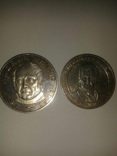 Monedas De Colección Andres Bello Y José María Vargas