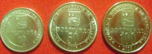 Monedas De  Dificil, De  Y 100 Por Bs. ._