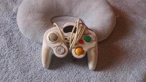 Oferta Control De Nintendo Gamecube Blanco Compatible Wii