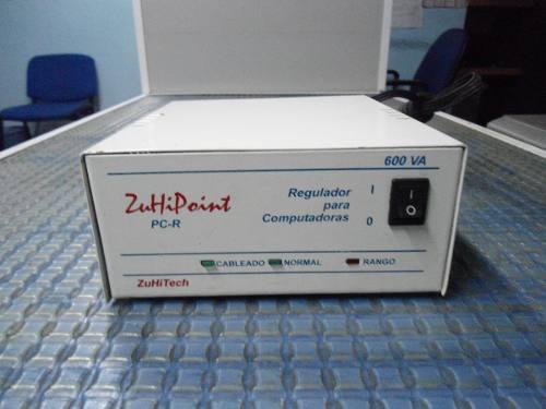 Regulador De Voltaje Comput Zuhipoint 4 Salidas 120v - 600va
