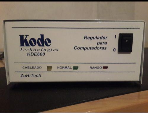 Regulador De Voltaje Para Pc. Marca Kode