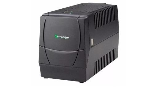 Regulador Protector De Voltaje Explore 800w 8 Tomas
