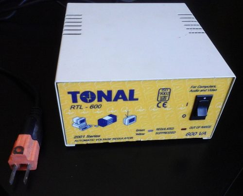 Remato. Regulador De Voltaje Tonal. Pc