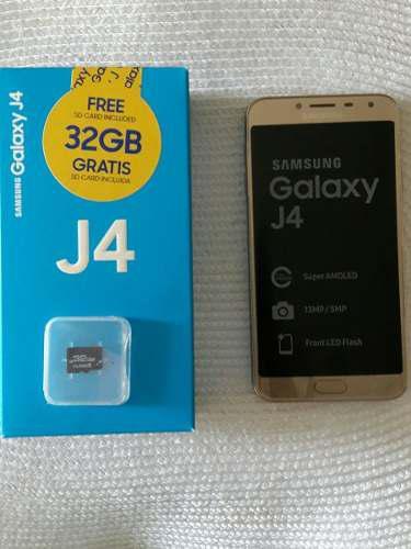 Samsung J4 De 16 Y 32gb Más Obsequio 32 Gb Somos Tienda