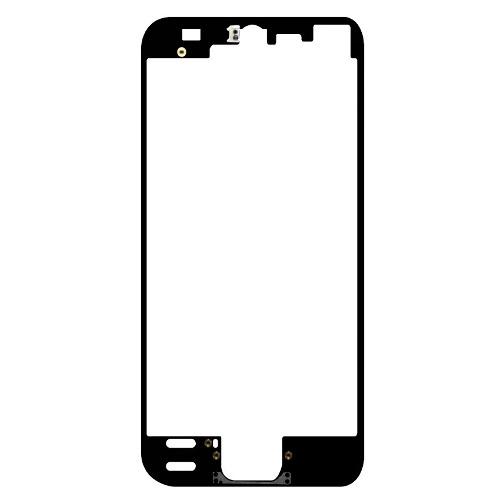 Bisel Apple Iphone 5 Negro Soporte Medio Frontal Lcd Bagc