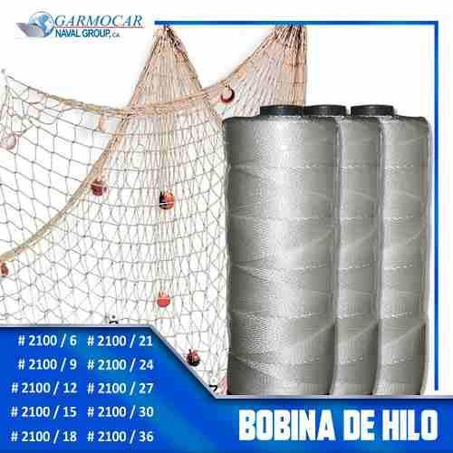 Bobina De Hilo Para Redes De Pesca. Variedad De Medidas 9-36