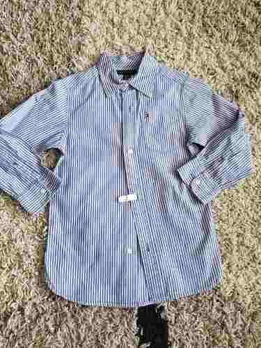 Camisa Usad De Niños Tommy Hilfiger Original Talla 4/5