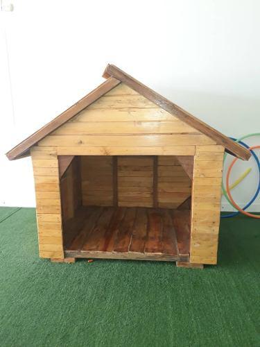 Casa De Madera Para Niños O Mascotas