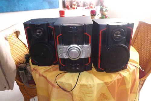 Equipo De Sonido Marca Pixys Con Sos Corenetas Y Antena