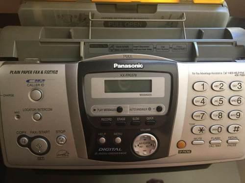 Fax Telefono Inalambrico Panasonic Costo En La Descripcion.