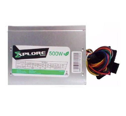 Fuente Poder 500w Explore Power Ps105 + Garantia Tienda