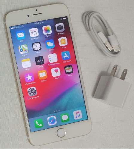 Iphone 6s Plus 64gb (380) Rosa Gold Liberado 4g Lte Chacao