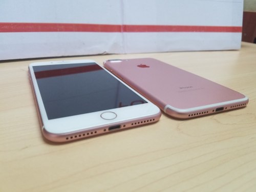 Iphone 7 Plus 32gb Negro Y Rosado Grado A