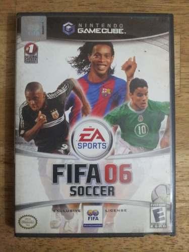 Juego Nintendo Game Cube Fifa 06 Soccer