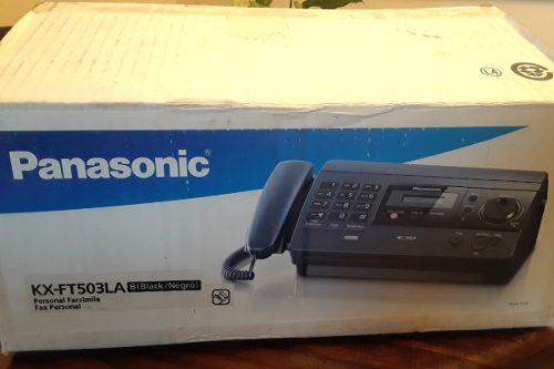 Teléfono Fax Panasonic Modelo Kx-503