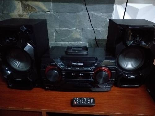 Vendo Equipo De Sonido Panasonic Sa-akx220 Usado