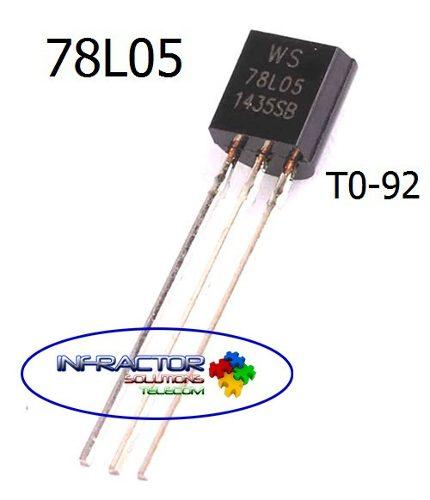 78l05 Regulador De Voltaje (5 Unid) Arduino Pic Electrónica