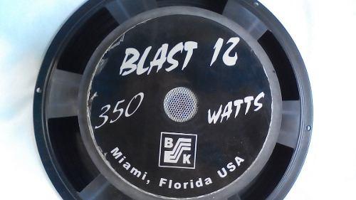 Bajo Woofer Blast 12 Marca Bk De 12 Plg,8 Ohm,350 Watt.