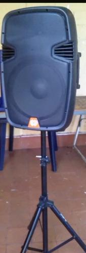 Corneta Amplificada Con Paral Y Modulo De Microfono