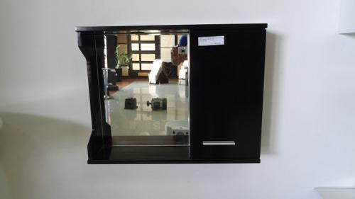 Gabinete Modular De Baño Moderno Con Espejo