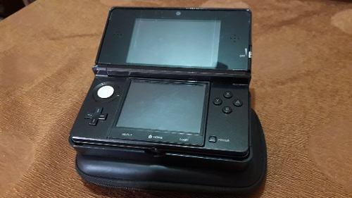 Nintendo 3ds Con Estuche, Cargador, Base Y Un Juego Original