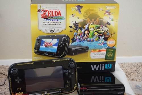 Nintendo Wii U 32gb 38 Juegos + Dlcs