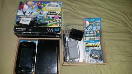 Nintendo Wii U Deluxe 32gb + 2 Juegos