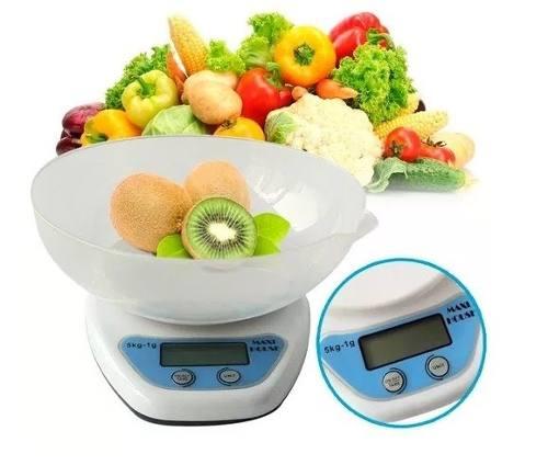 Peso Balanza Gramera Digital De Cocina 5 Kilos !!!oferta!!!