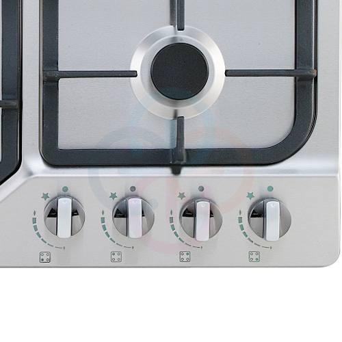 Tope De Cocina A Gas Premiun 60 Cm Parrillas Hierro Profes