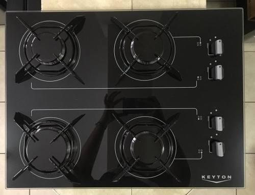 Tope De Cocina A Gas Vitroceramica De 60 Keyton